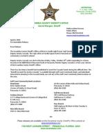 Press Release Cassady Prayer Vigil Donations