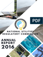 Saint Lucia, National Utilities Regulatory Commission (NURC), Annual Report 2016