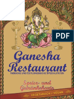 Speisekarte Ganesha Vegie Vegan