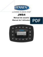 Jms4 Owner s Manual French and Spanish