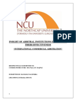 Internationaal Commecial Arbitration.docx