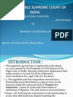 Jagdish Chander V. Ramesh Chander & Ors