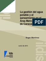 La gestión del agua potable y el saneamiento en el Área Metropolitana de Caracas.pdf