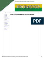 Lección 4 Ecuaciones Diferenciales en Variables Separables. - Poliecuaciones2