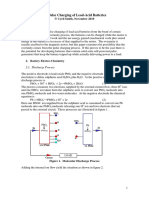 On Pulse Charging of Lead Acid Batteries