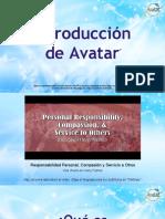 Experience Avatar Slides Spn 10 2016