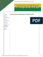 Lección 06. Ecuaciones Diferenciales Convertibles a Exactas - Poliecuaciones2