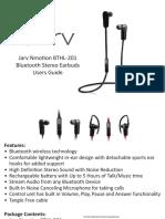 BTHL 201 Manual