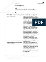 task 2 - job role application form