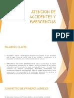 Atencion de Accidentes y Emergencias