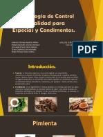 Metodologías de Control de Calidad para Especias 1.pptx