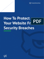 How to Protect Your Website From Security Breaches