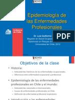 Epidemiología Enfermedades Profesionales 2012