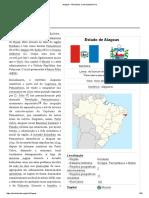 Estado de Alagoas.