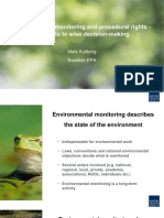 Environmental Monitoring and Procedural Rights