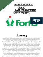 fortis escorts