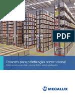 Estantes de Paletização Convencional