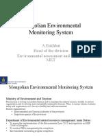 Mongolian Environmental Monitoring Systems