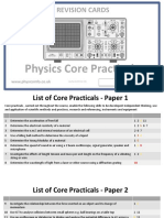 2015 Physics a level Core Practical