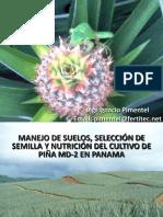 Manejo de Suelos, Selección de Semilla y nutrición del cultivo de piña.pdf