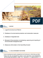 Environmental Protection in Mining Areas and Reclamation