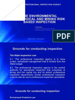 Environmental, Geological and Mining Risk Inspection in Mongolia