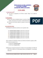 I Torneo Escolar Benjo 2019
