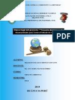 Avance Estudio Del Impacto Ambiental_LAS MORAS HUANUCO
