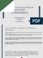 Hoja de Seguridad NFPA