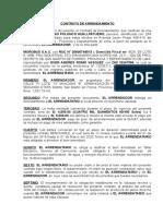 Contrato Inmueble Pro Alquiler Maph