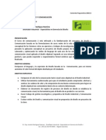 Contenido Programático 2010 - Comunicación 2 - D.I. Esp. Andrés Rodriguez Ramirez