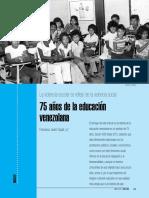 75 años de la educación en Venezuela