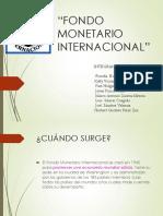 Diapos Fondo Monetario Internacional