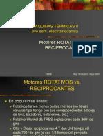 Rotativo vs. Reciprocante