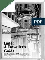 Luna a Traveller's Guide