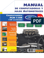 Computadora PCM 150R 150 Cavidades Ford
