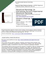 Pregrado - Cherney, I.D., Seiwert, C.S., Dickey T.M. & Flichtbeil J.D. (2006). Children's Drawings. a Mirror to Their Minds