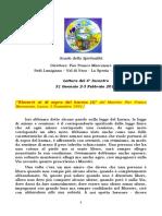 Letture del 4° Incontro (per invio in pdf) del 2-3 Febbraio 2019