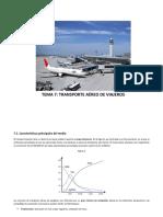 Módulo III Tema VII Transporte Aéreo de Viajeros