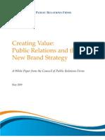 Creating Consumer Value