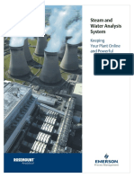 Brochure Steam and Water Analysis System Brochure Data
