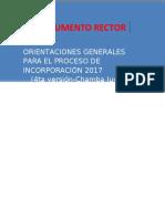 Documento Rector Incorporación 2017 4ta Versión_chamba Juvenil