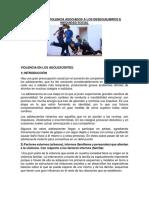 Conflicto y Violencia Asociados a Los Desequilibrios e Inequidad Social