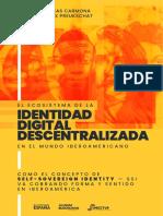 Ecosistema Identidad Digital Descentralizada SSI Iberoamericana