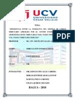 Diferencias Del Codigo Tributario Interamericano y Del Peru