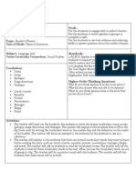 lesson plan for readers theater