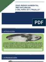Vulnerabilidad y Riesgo Ambiental en La Quebrada San Idelfonso