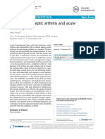 Treatment of Septic Arthritis and Acute Osteomyelitis