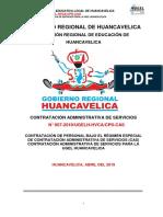 Bases Cas 007-2019 Ugel Huancavelica