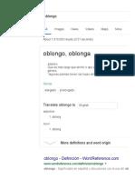 Oblongo - Google Search